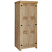 Core Products MX580 Pine 2 Door Wardrobe