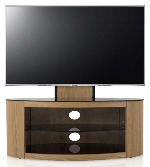 Buy Buckingham Oak Cantilever TV Stand For Up To 55 Inch