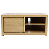 Tribeca Corner TV Unit, Oak