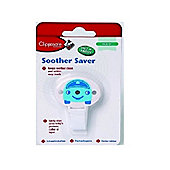 Clippasafe Soother Saver Blue
