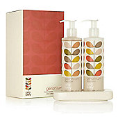 Orla Kiely Geranium Hand Wash and Lotion Set