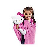 Hello Kitty Cuddleuppet Blanket