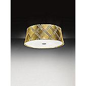 Metal Lux Corallo Large Ceiling Flush - White