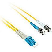 Cables to Go 5m LC/ST Duplex 9/125 Single Mode Fibre Patch Cable