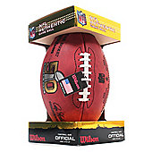 Wilson Super Bowl 50 Official Game American Football Ball Boxed