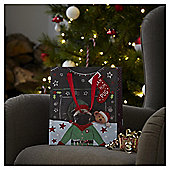 Medium Photo Puppy Christmas Gift Bag