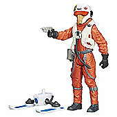 Star Wars The Force Awakens 9cm X-Wing Pilot Asty Combine Figure