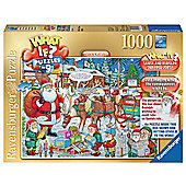 Ravensburger 1000 Piece Puzzle What If? No 9 Santa and Rudolph