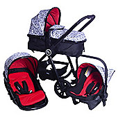 Red Kite Push Me Fusion Travel System (Geo)