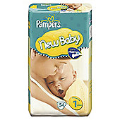 Pampers New Baby Size 1 (Newborn) Economy Pack 50.