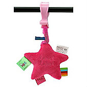 Label Label Clip-On Trembling Toy (Pink)