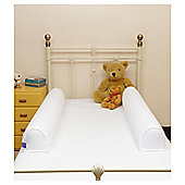 Dream Tubes Microfibre Single Bed Complete Set, White