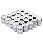 Tesco Basic Tealights 100 Pack, White