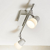 Nordlux Chic 2 Light Ceiling Spotlight - White