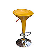 Bombo Yellow Breakfast Bar Stool