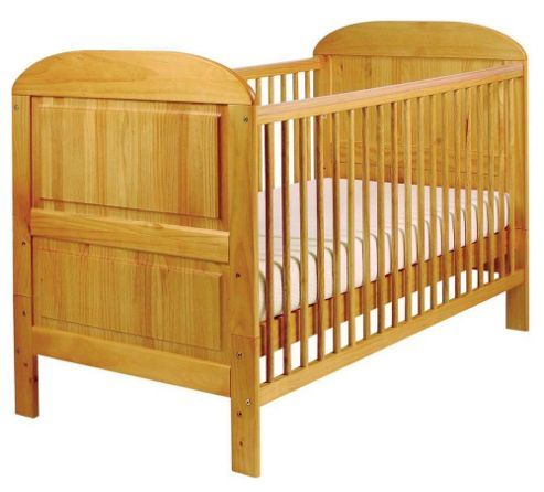 Buy East Coast Angelina Cot Bed Antique Effect From Our