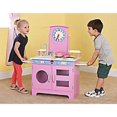 Plum® Padstow Wooden Role Play Kitchen with Accessories