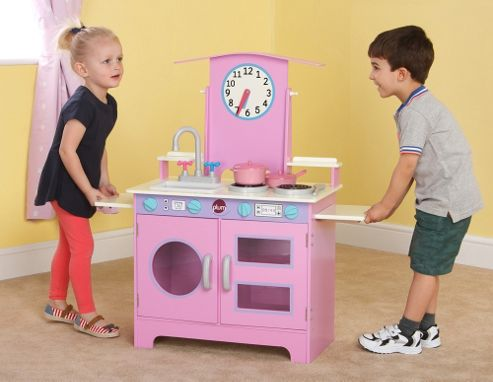 Plum Padstow Wooden Role Play Kitchen with Accessories
