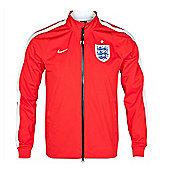 2014-15 England Nike N98 Anthem Jacket (Red) - Red