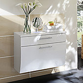 Posseik Salona 53 x 70cm Lower Wall Cabinet - Anthracite / White