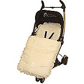 Broderie Anglaise Footmuff To Fit Silver Cross Surf/Pioneer Cream