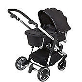 Kiddy Click n Move 3 Carrycot (Racing Black)