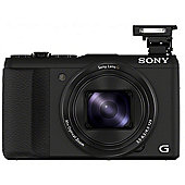 "Sony DSC-HX50 Digital Camera, Black, 20.4MP, 30x Optical Zoom, 3"" LCD Screen"