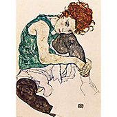 The Artists Wife - Egon Schiele Puzzle