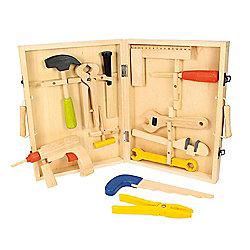 Bigjigs Toys BJ245 Carpenters Tool Box