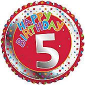 18' 5th Birthday Foil (each)