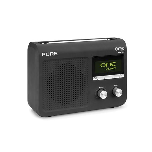Pure Portable DAB/FM Internet Radio - Black