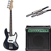 Beginner Electric Bass Guitar Pack