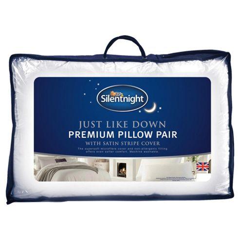Silentnight Just Like Down Premium Pillow 2 pack