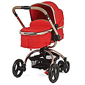 Mothercare Orb Pram and Pushchair - Red Canvas