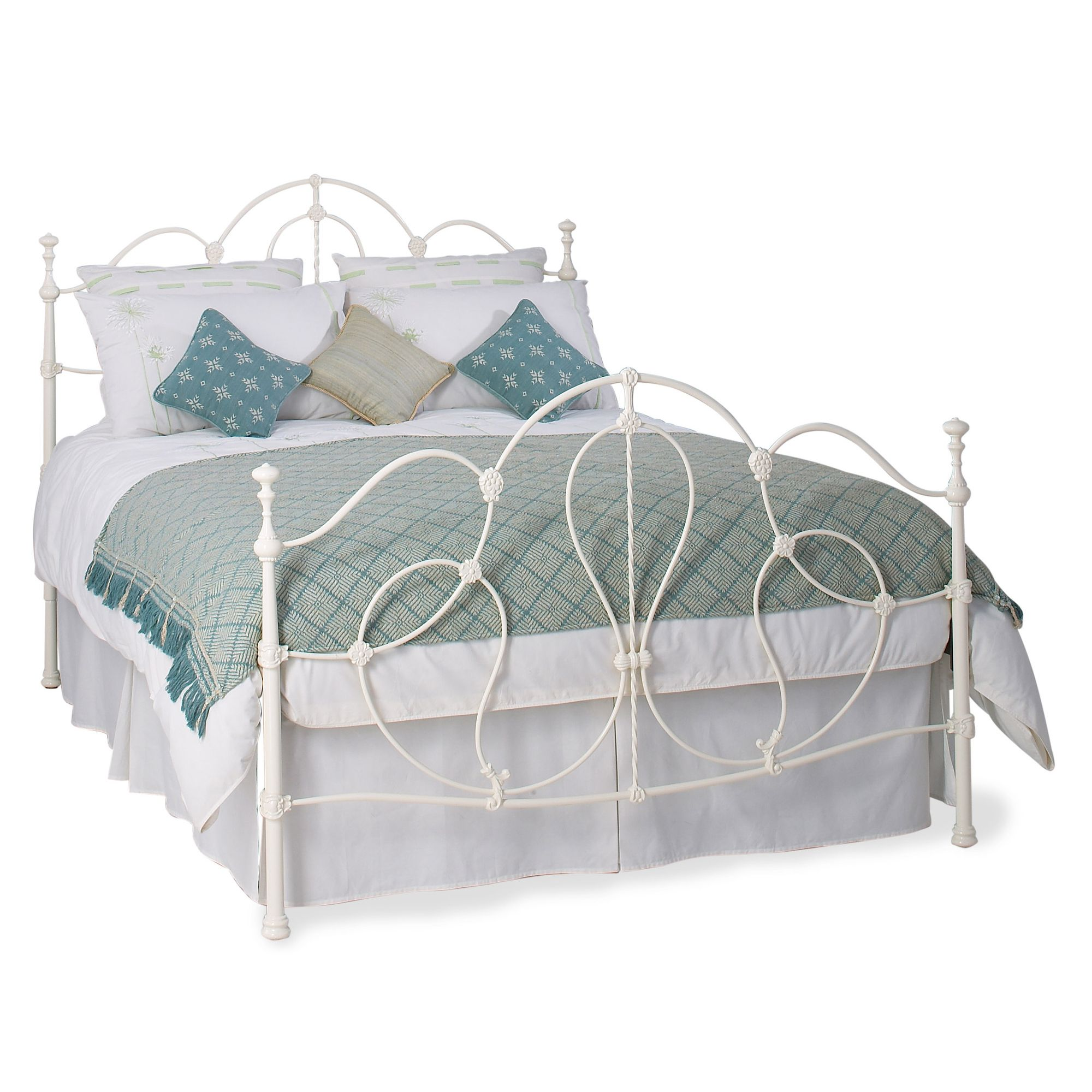 OBC Cara Bed Frame - King at Tesco Direct