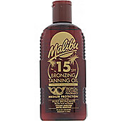 Malibu Bronzing Tanning Oil 200ml SPF15