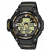 Casio Mens Chronograph Barometer Altimeter Thermometer Watch - SGW-400H-1B2VER