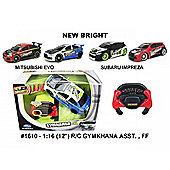 New Bright 1:16 Subaru Gymkhana - BLACK and WHITE - Gadgets