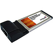 1 Port ExpressCard Gigabit Laptop Ethernet NIC Network Adapter Card