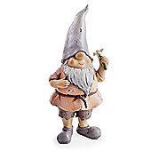 Oak the Garden Loving Gnome Ornament with Flower