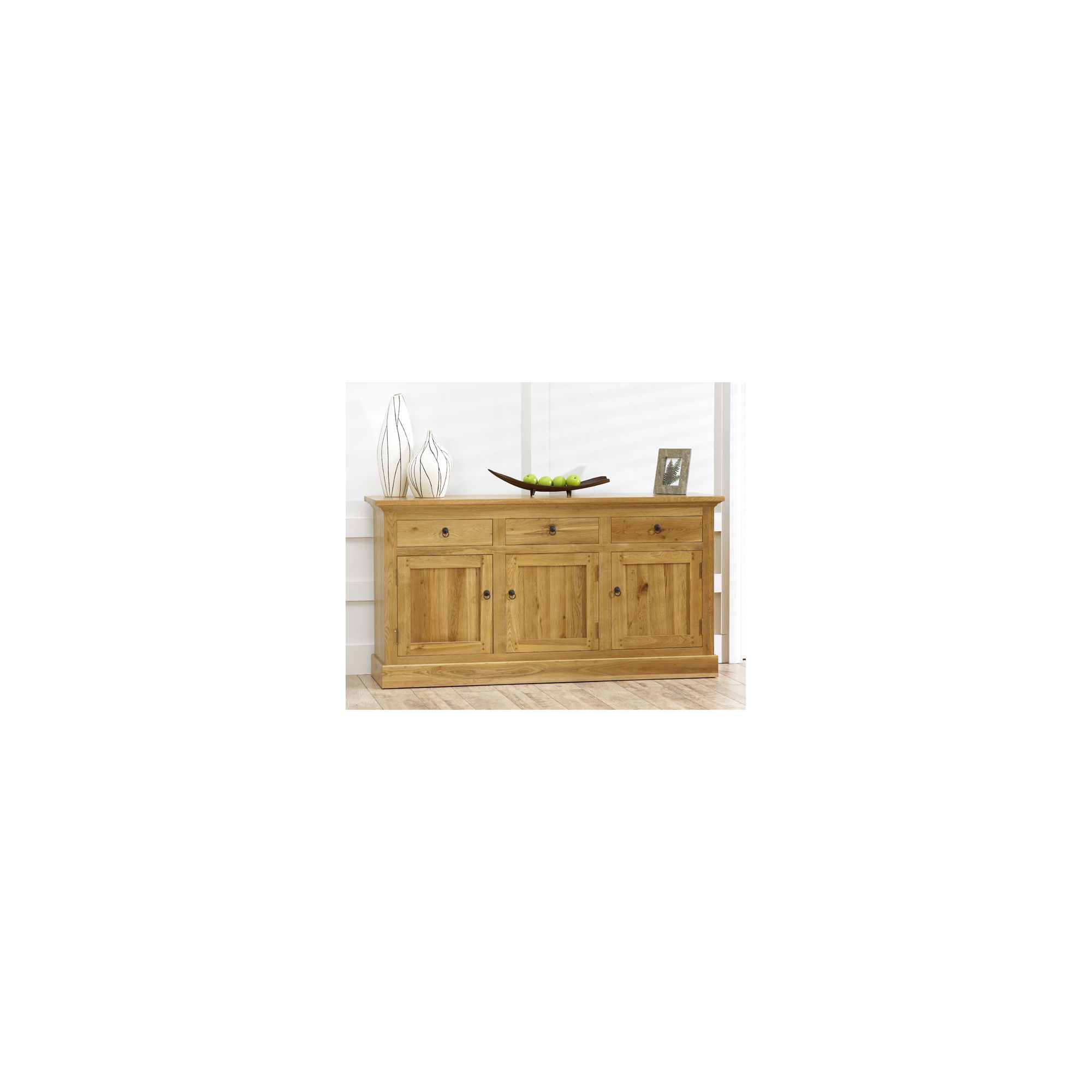 Mark Harris Furniture Rustique Three Doors Sideboard at Tescos Direct
