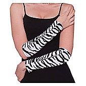 Zebra Print Glovelets