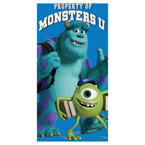 Disney Monsters University beach Towel