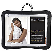 Kings & Queens Kingsize Duvet 10.5 Tog - Just Like Down