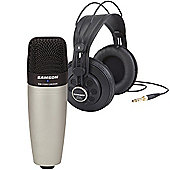 Samson C01/SR850 Mic/Headphones Bundle