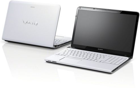 Sony Vaio SVE1513B1E (15.5 inch) Notebook Pentium (2020M) 2.40GHz 4GB 500GB DVD WLAN BT Windows 8 (HD Graphics) - White