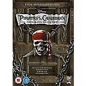 Pirates Of The Caribbean 1-4 (DVD Boxset)