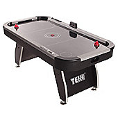 Tekscore Jet 6ft Air Hockey Table With Silver Top Rails