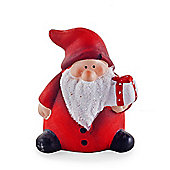 Cute Ceramic Father Christmas Ornament