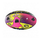Optimum Space Monster Rugby Ball - Multi